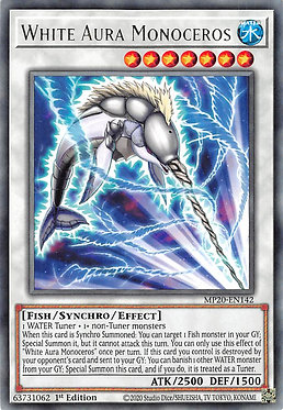 White Aura Monoceros - MP20-EN142 - Rare