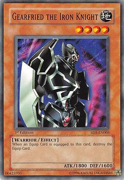 Gearfried the Iron Knight - SD5-EN005 - Common
