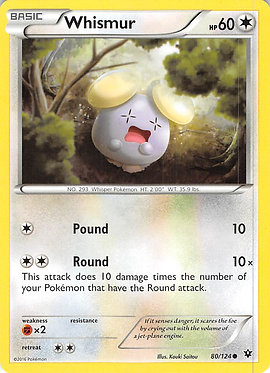 Whismur - 80/124 - Common