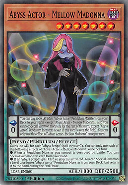 Abyss Actor - Mellow Madonna - LDS2-EN060 - Common