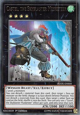Castel, the Skyblaster Musketeer - DUDE-EN018 - Ultra Rare