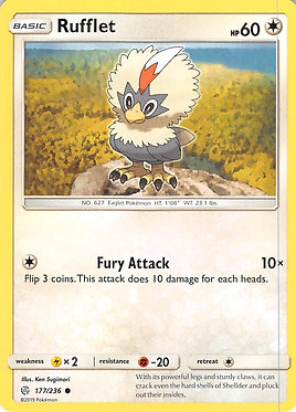 Rufflet - 177/236 - Common