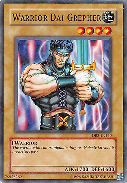 Warrior Dai Grepher - DB2-EN140 - Common