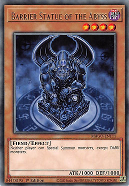 Barrier Statue of the Abyss - MAGO-EN111 - Rare