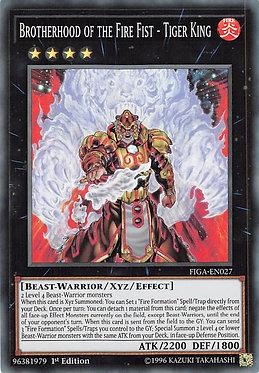 Brotherhood of the Fire Fist - Tiger King - FIGA-EN027 - Super Rare