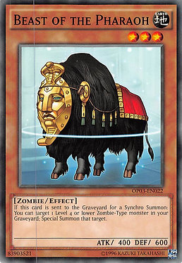 Beast of the Pharaoh - OP03-EN022 - Common
