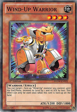 Wind-Up Warrior - PHSW-EN022 - Common