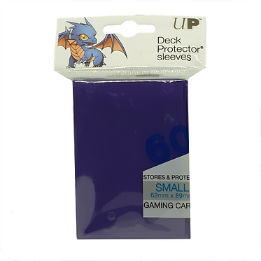 Ultra Pro - Deck Protector Sleeves Small Size - Blue 60pk