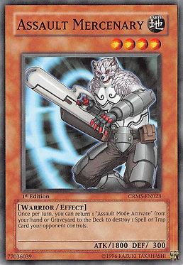 Assault Mercenary - CRMS-EN023 - Common