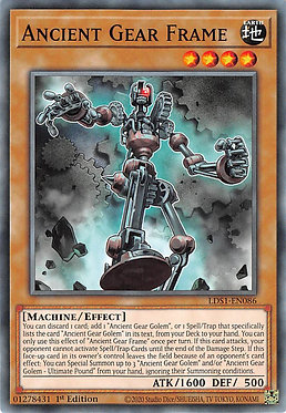 Ancient Gear Frame - LDS1-EN086 - Common