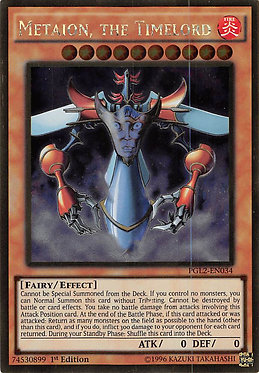 Metaion, the Timelord - PGL2-EN034 - Gold Rare