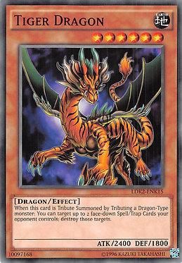 Tiger Dragon - LDK2-ENK15 - Common