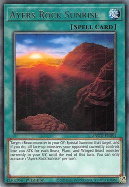 Ayers Rock Sunrise - ANGU-EN054 - Rare