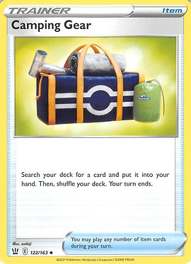 Camping Gear - 122/163 - Uncommon