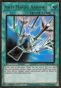 Anti-Magic Arrows - MAGO-EN043 - Premium Gold Rare
