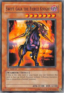 Swift Gaia the Fierce Knight - SD5-EN006 - Common