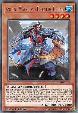 Ancient Warriors - Eccentric Lu Jing - IGAS-EN010 - Rare