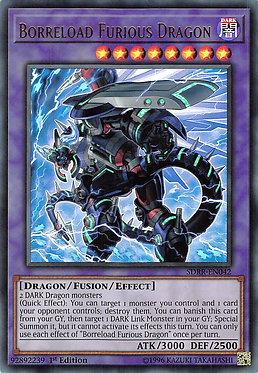 Borreload Furious Dragon - SDRR-EN042 - Ultra Rare