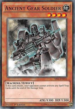 Ancient Gear Soldier - SR03-EN010 - Common