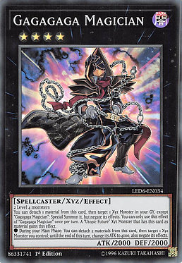 Gagagaga Magician - LED6-EN034 - Super Rare