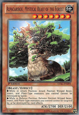 Alpacaribou, Mystical Beast of the Forest - LVAL-EN095 - Common