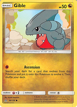 Gible - 97/156 - Common