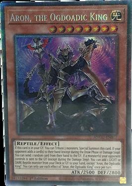 Aron, the Ogdoadic King - ANGU-EN007 - Collectors Rare