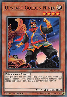 Upstart Golden Ninja - SHVA-EN023 - Super Rare