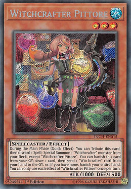 Witchcrafter Pittore - INCH-EN015 - Secret Rare