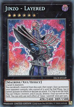 Jinzo - Layered - DLCS-EN149 - Secret Rare