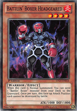 Battlin' Boxer Headgeared - LTGY-EN016 - Common