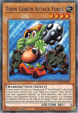 Toon Goblin Attack Force - LDS1-EN061 - Common