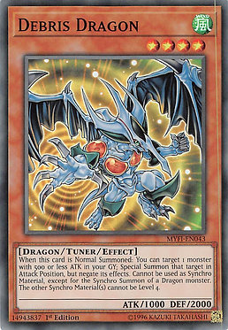 Debris Dragon - MYFI-EN043 - Super Rare