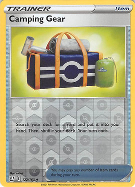Camping Gear - 122/163 - Uncommon Reverse Holo