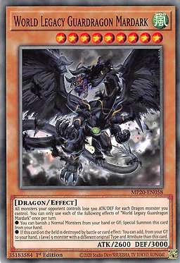 World Legacy Guardragon Mardark - MP20-EN058 - Common