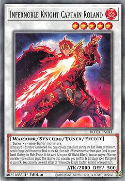 Infernoble Knight Captain Roland - ROTD-EN041 - Common