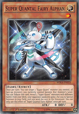 Super Quantal Fairy Alphan - WIRA-EN033 - Common