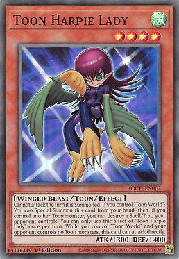 Toon Harpie Lady - TOCH-EN002 - Super Rare