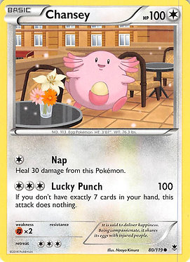 Chansey - 80/119 - Common