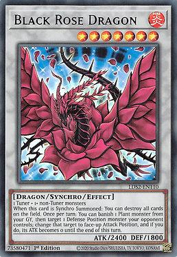 Black Rose Dragon (Purple) - LDS2-EN110 - Ultra Rare