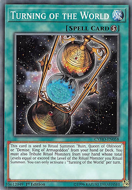 Turning of the World - CYHO-EN058 - Common 1st Edition