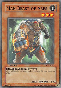 Man Beast of Ares - CDIP-EN030 - Common