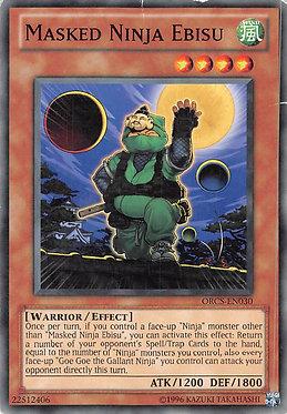 Masked Ninja Ebisu - ORCS-EN030 - Common