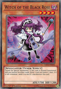 Witch of the Black Rose - LED4-EN030 - Common