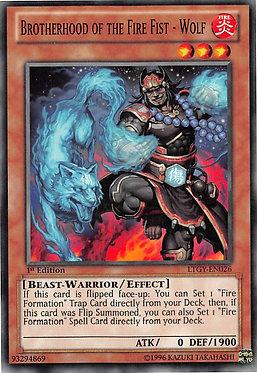 Brotherhood of the Fire Fist - Wolf - LTGY-EN026 - Common