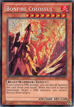 Bonfire Colossus - CBLZ-EN084 - Secret Rare