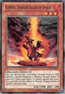 Burner, Dragon Ruler of Sparks - LTGY-EN097 - Common