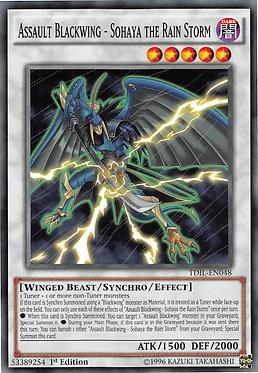 Assault Blackwing - Sohaya the Rain Storm - TDIL-EN048 - Common
