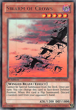 Swarm of Crows - SHSP-EN042 - Rare