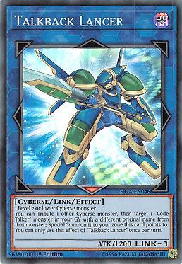 Talkback Lancer - FIGA-EN046 - Super Rare